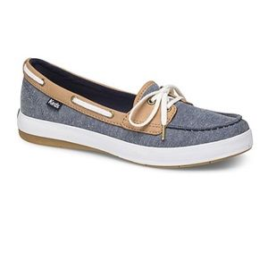 Free w/ purch KEDS Ortholite Chambry Boat Shoes
